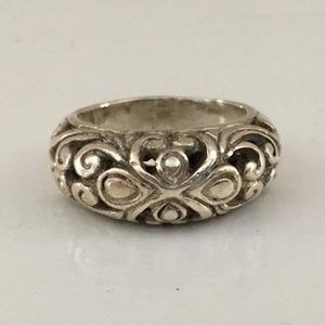 Vintage Sterling Silver Ring from 1969